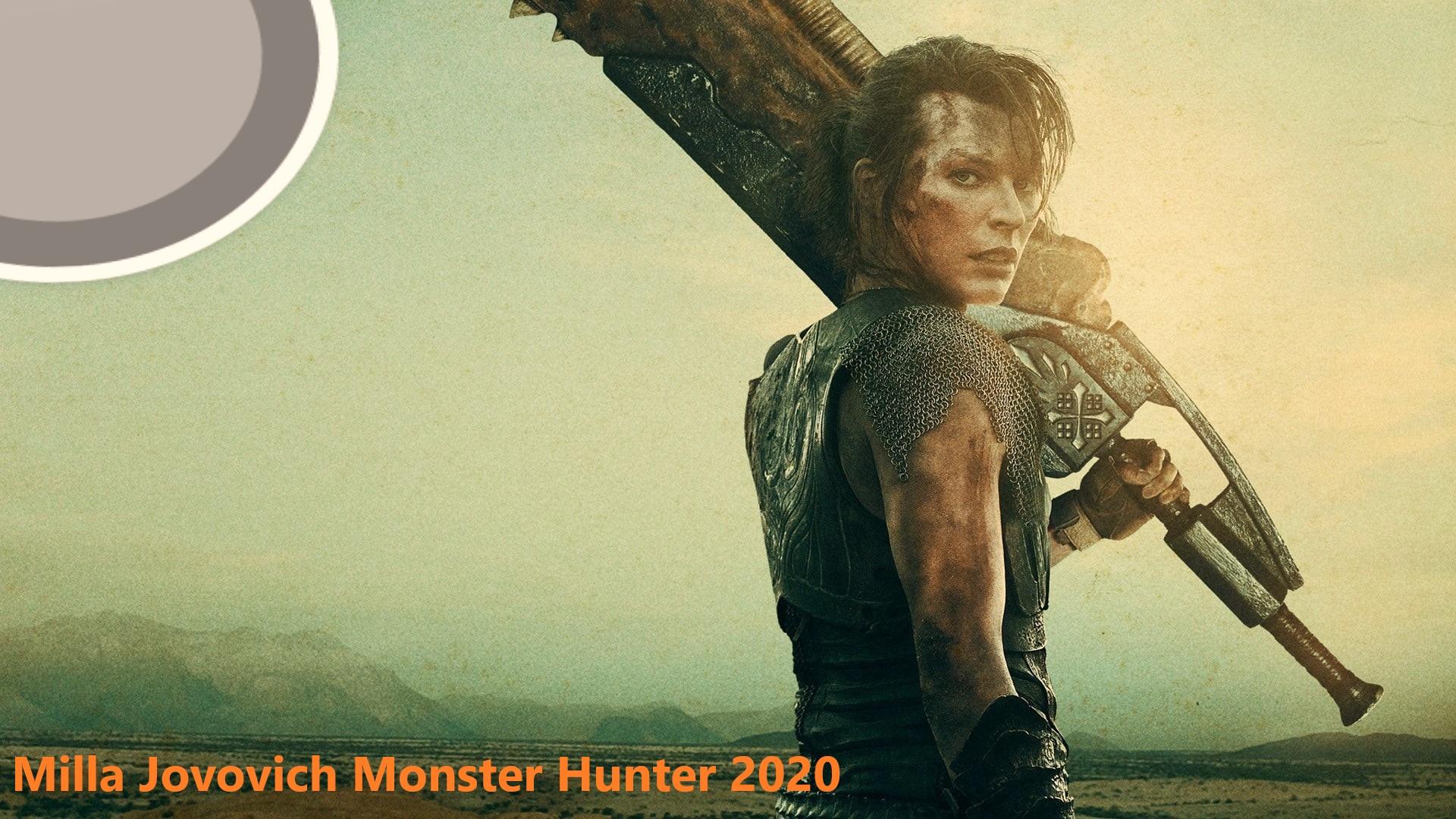 Milla Jovovich Monster Hunter 2020